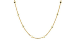 Necklace Beautiful Dots Gold