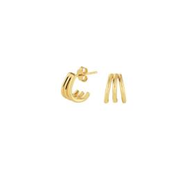 Earrings Micron Gold