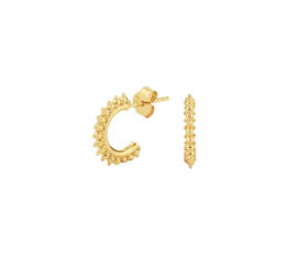 Earrings Royal Majestic Gold