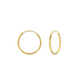 Earrings Creoles Gold 18mm