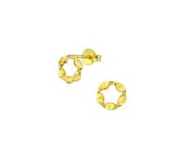 Earrings Twist Gold