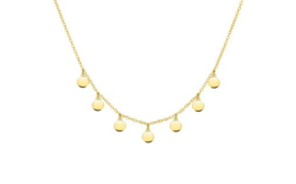 Necklace Circles Gold
