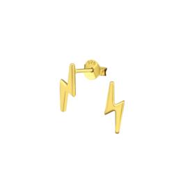 Earrings Lightning Gold