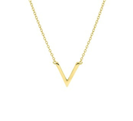 Necklace Mister V Gold
