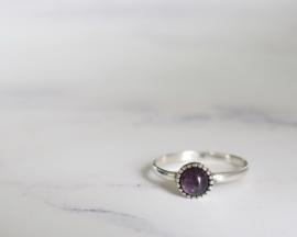 Ring Dahlia Purple