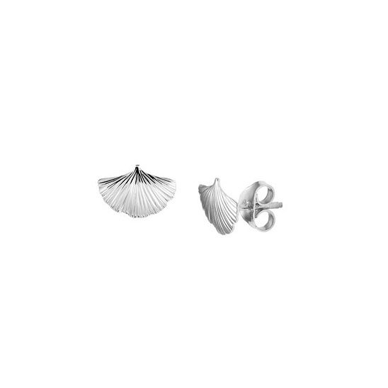Earrings Ginkgo Leaf