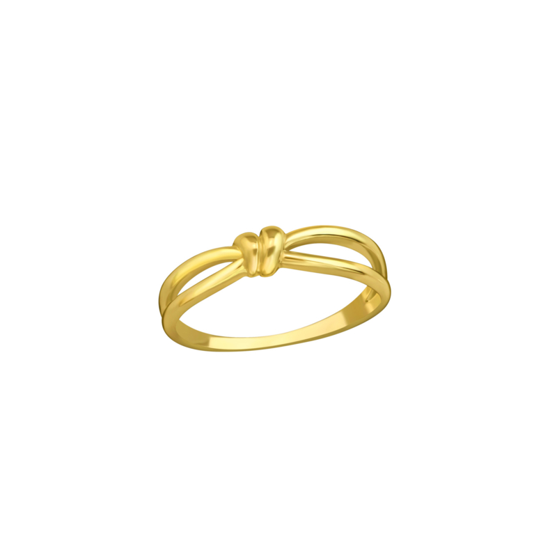 Ring Button Gold