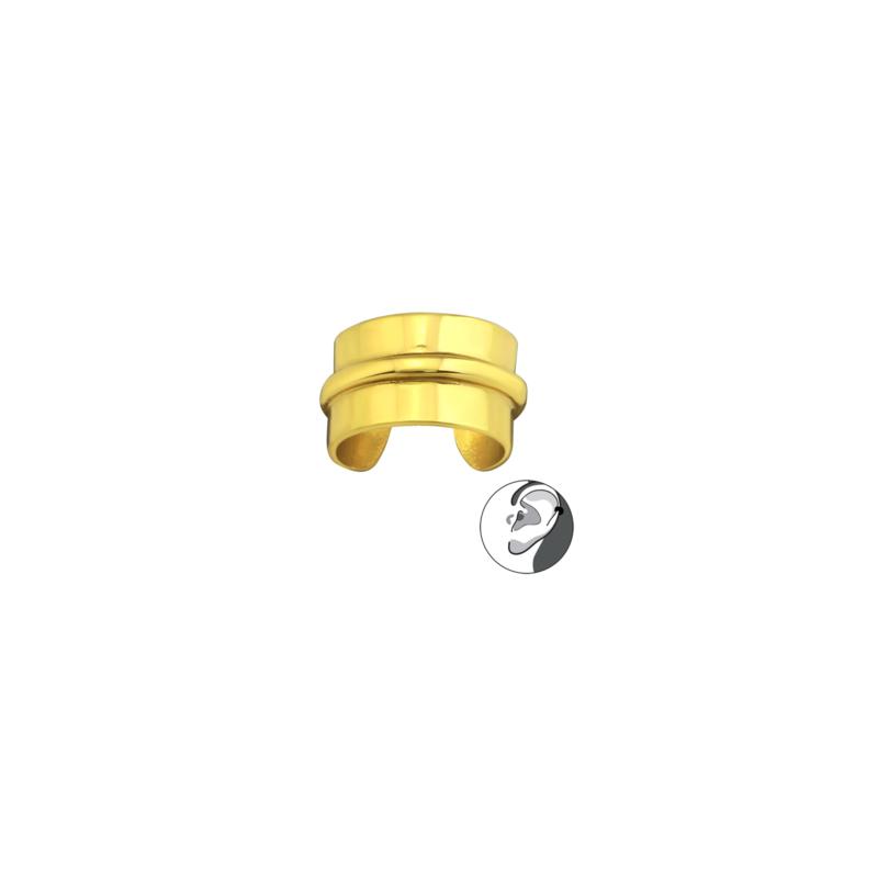 Ear Cuff Flat Gold