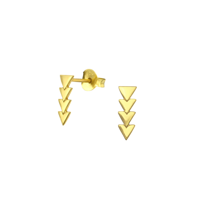 Earrings Arrows Gold
