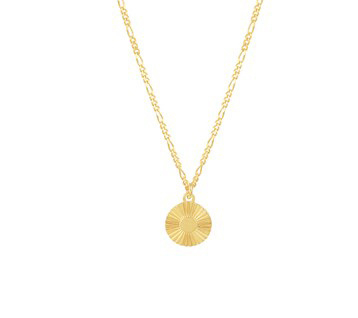 Necklace Sweet Round Gold