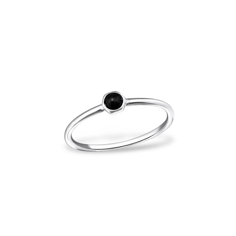 Ring Petunia Black
