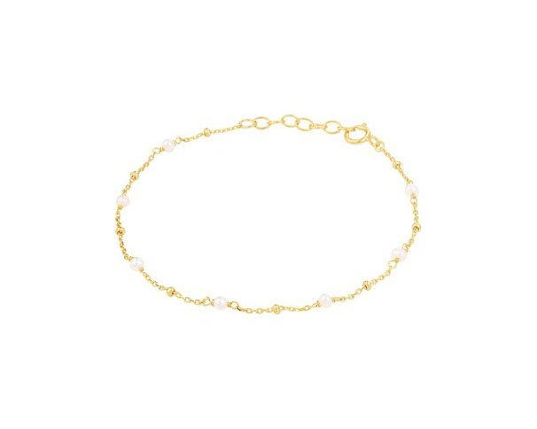 Bracelet Pearls Gold