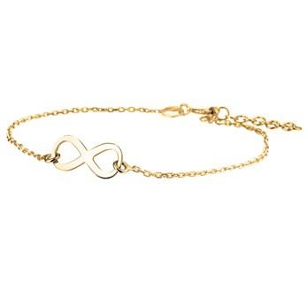 Bracelet Infinity Gold
