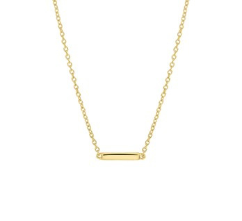 Necklace Sweet Bar Gold
