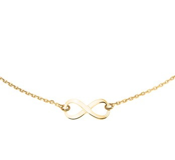 Necklace Infinity Gold