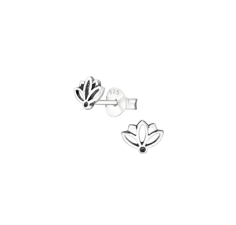 Earrings Lotus Small