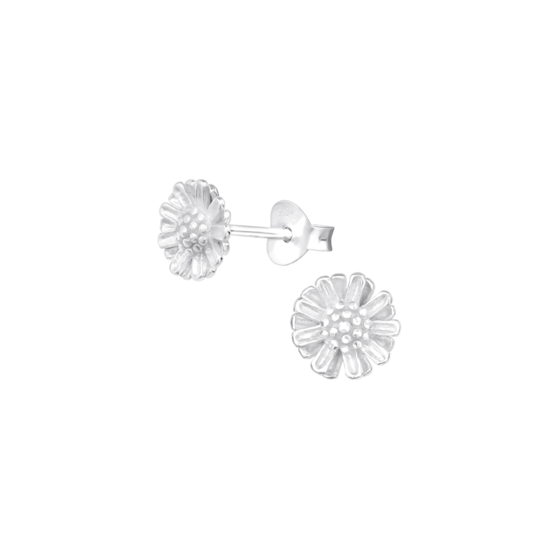 Earrings Daisy Silver