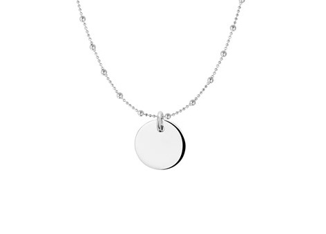 Necklace Round Long Dots
