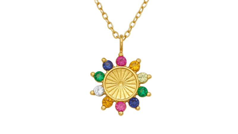 Necklace Flower Party Gold