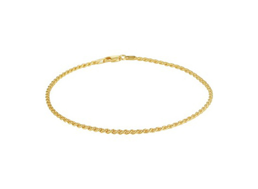 Anklet Cord Gold