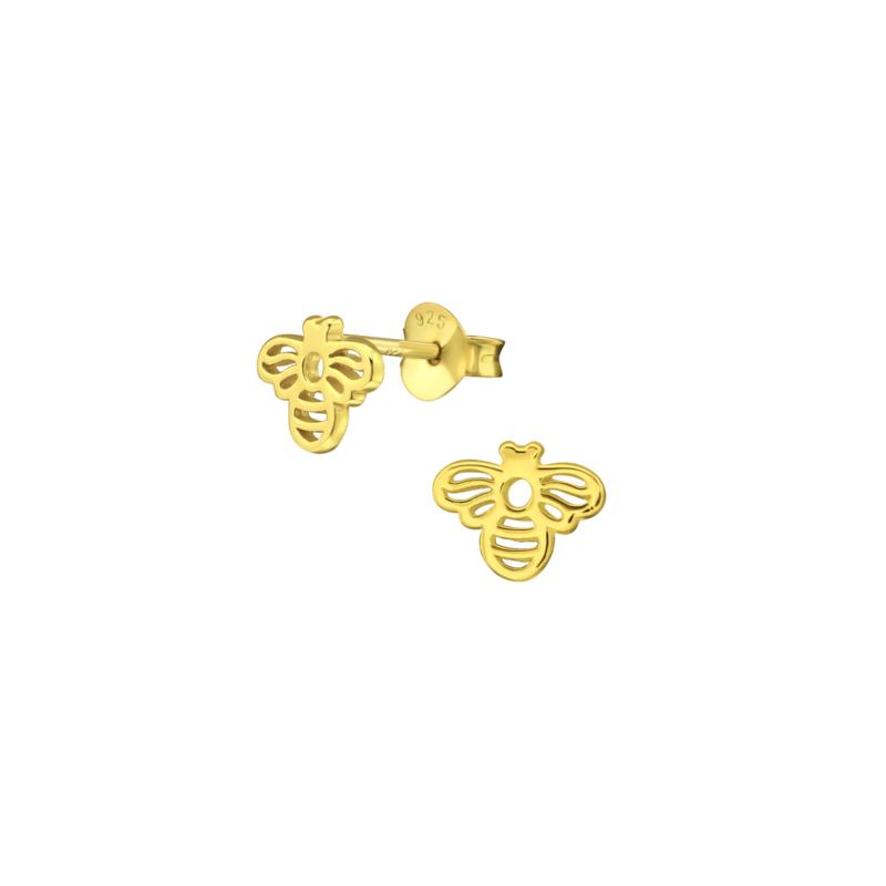 Earrings Bee Gold