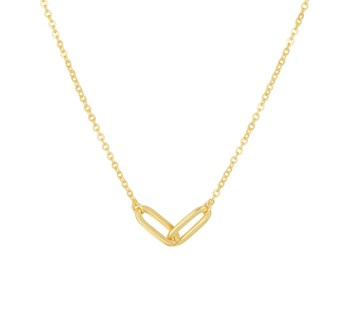 Necklace Forever Connected Gold