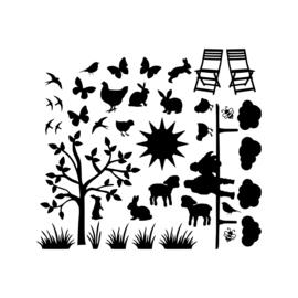 Raamstickers | Aanvulling lente