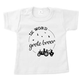 Ik word grote broer - boerderij | shirt