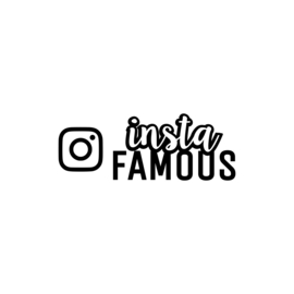 Instafamous - 1 | strijkapplicatie