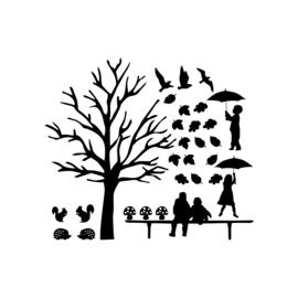 Raamstickers | Aanvulling herfst