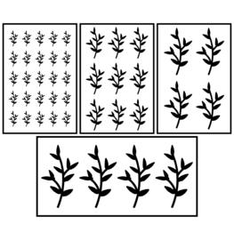 Mini puntige blaadjes | botanisch