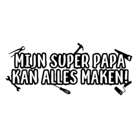 Super papa | DIY-stickers vaderdag