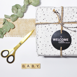 Welcome little one | cadeaukaartje