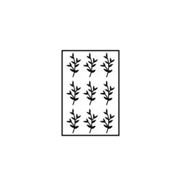 Mini puntige blaadjes   botanisch