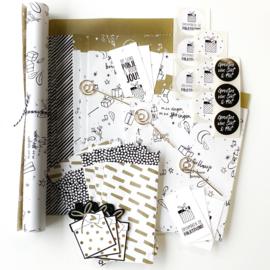 Cadeau inpakset Sinterklaas