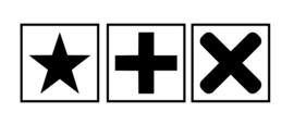 Houten naamblokken / letterblokken 4 cm