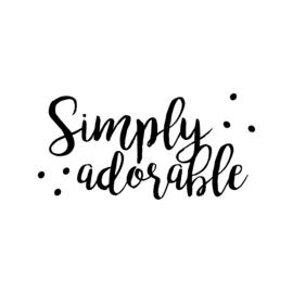 Simply adorable | strijkapplicatie