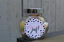 Glazen potje | dots - juf
