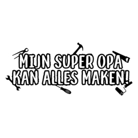 Super opa | DIY-stickers vaderdag