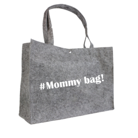#Mommy bag! | vilten tas