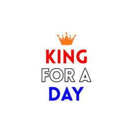King for a day | strijkapplicatie