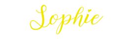 Naamsticker Sophie