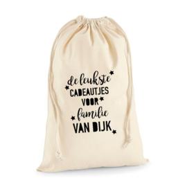 Cadeauzak - tekst   Sinterklaas