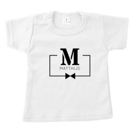 Letter met naam in blok | naamshirt