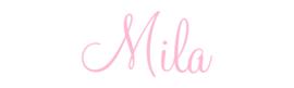 Naamsticker Mila