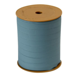 Krullint - vintage blauw  - 10 mm