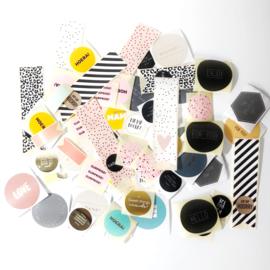 Set van 80 stickers