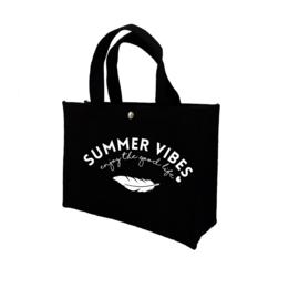 Summer vibes - veer | vilten kindertas