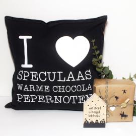 Kussenhoes | I love speculaas