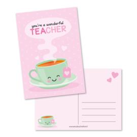 you're a wonderful teacher | kaart